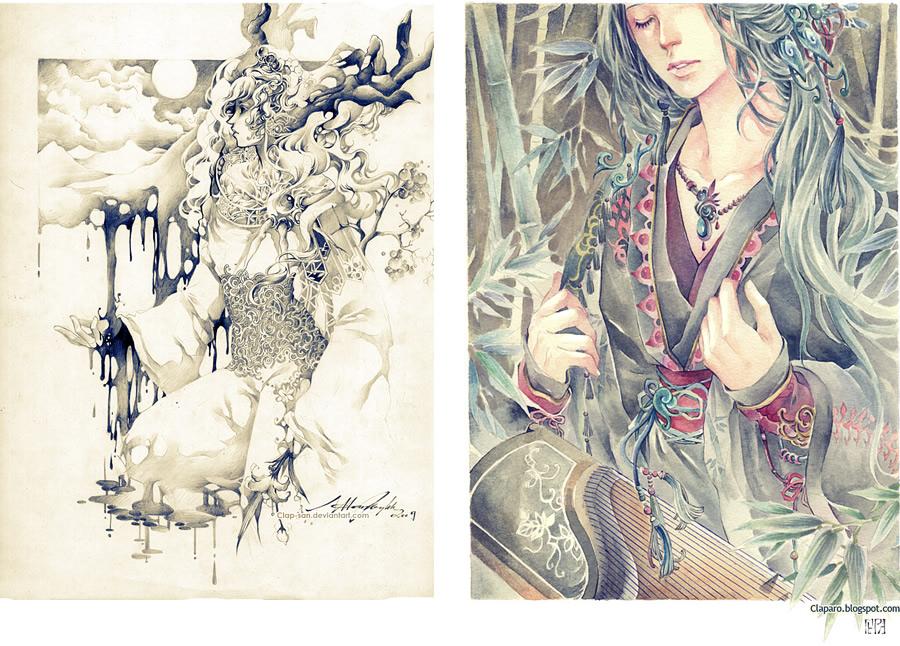 иллюстрации живописи: