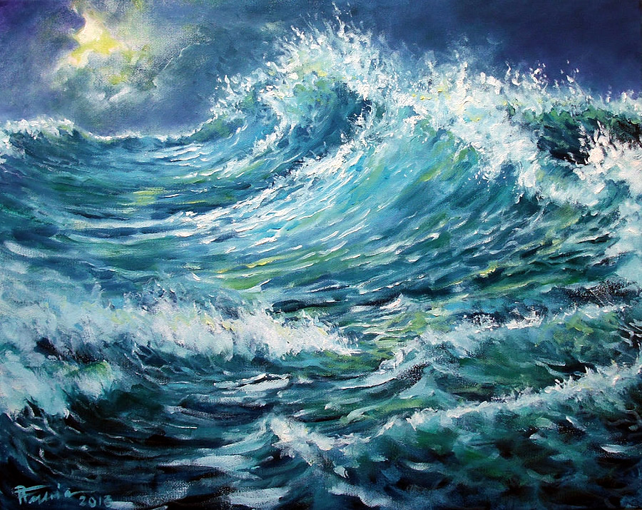 Sea_oil_paint_by_Boias